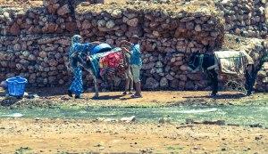 Locals doing laundry