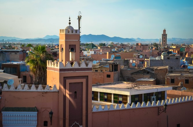 Marrakech overview