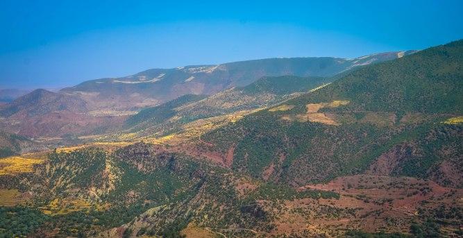 Pretty Atlas Mountain scenery