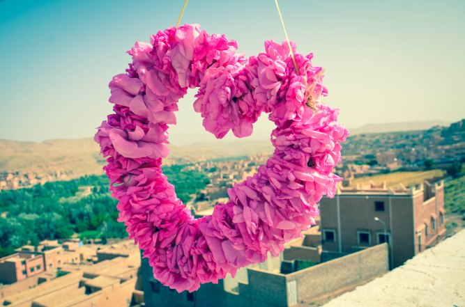 Rose heart Ouzazate