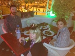 Celebrating Maria's birthday in Tangier