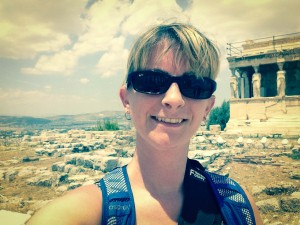 Me, my selfie and I at the Acropolis in Athens