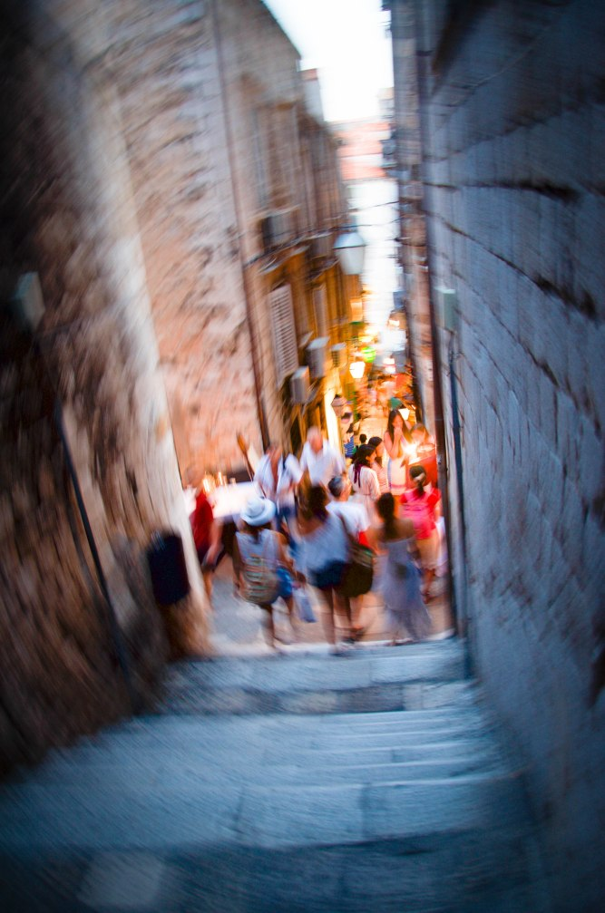 Alley in Dubrovnik, Croatia