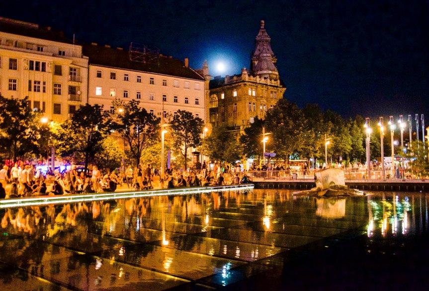 Nighttime, Budapest, Hungary