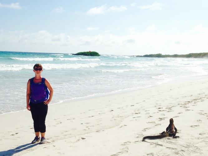 Me, Iguana, Tortuga Bay